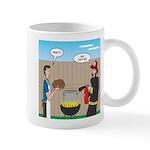 Unsafe Turkey Frying 11 oz Ceramic Mug