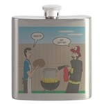 Unsafe Turkey Frying Flask