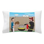 Unsafe Turkey Frying Pillow Case