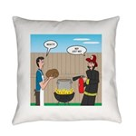 Unsafe Turkey Frying Everyday Pillow