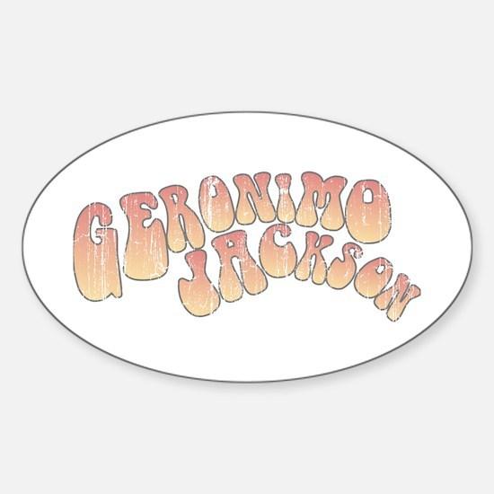 Geronimo Jackson Oval Decal