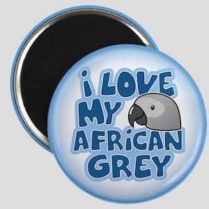 Kawaii Congo African Grey Magnet