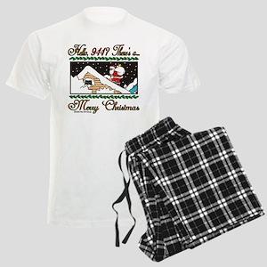 Hello, 9-1-1 Men's Light Pajamas