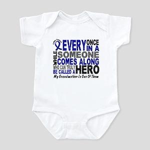 HERO Comes Along 1 Grandmother CC Infant Bodysuit