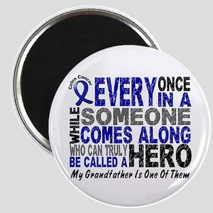 HERO Comes Along 1 Grandfather CC Magnet