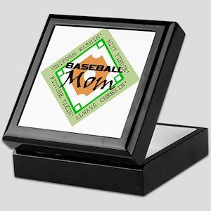 BASEBALL MOM DIAMOND Keepsake Box