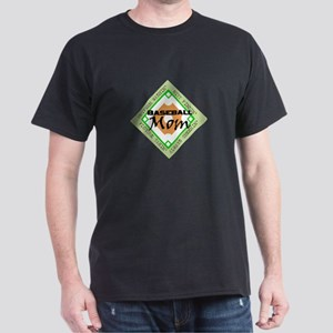 BASEBALL MOM DIAMOND Dark T-Shirt
