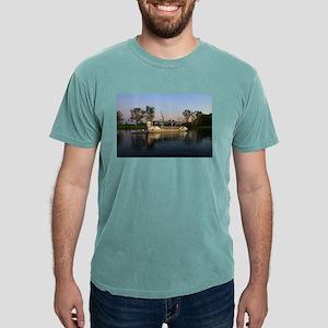 Billabong boat reflections, Australia T-Shirt
