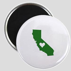 Green California Magnet