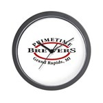 Primetime Brewers Wall Clock