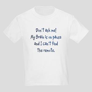 Brain on Pause Kids Light T-Shirt