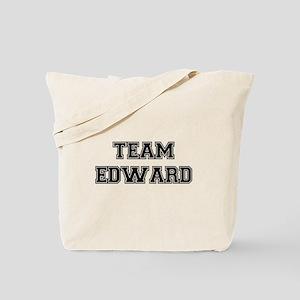 TEAM EDWARD (black) Tote Bag