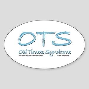 OTS Oval Sticker