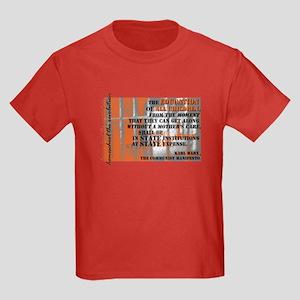 Marxist Education Kids Dark T-Shirt