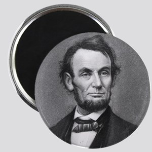 Pres. Abraham Lincoln Cameo Magnet