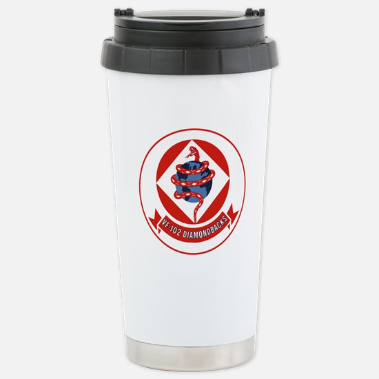 VF 102 Diamondbacks Stainless Steel Travel Mug