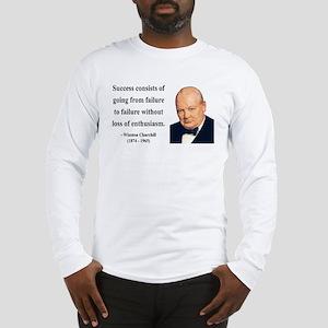 Winston Churchill 21 Long Sleeve T-Shirt