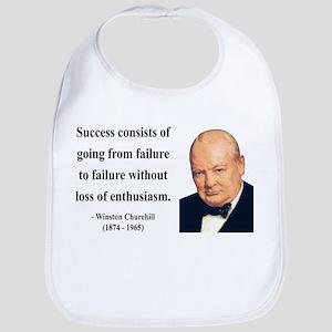 Winston Churchill 21 Bib
