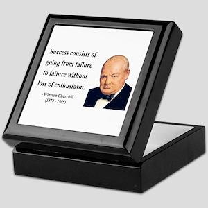 Winston Churchill 21 Keepsake Box