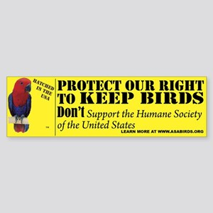 Protect Your Right to Keep Bi Sticker (Bumper 50 p