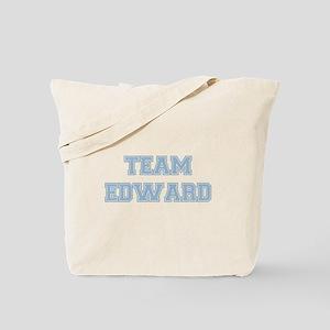 TEAM EDWARD (blue) Tote Bag