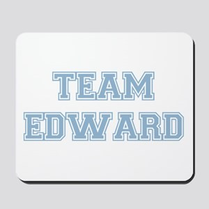 TEAM EDWARD (blue) Mousepad