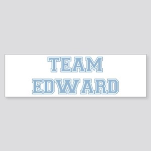 TEAM EDWARD (blue) Bumper Sticker