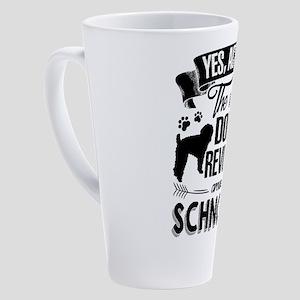 Schnoodle 17 oz Latte Mug