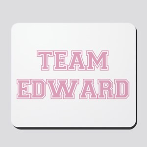 TEAM EDWARD (pink) Mousepad