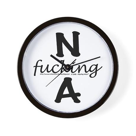 N f_cking A Wall Clock