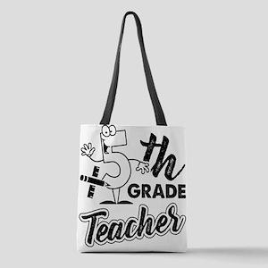 5th Grade Teacher Polyester Tote Bag