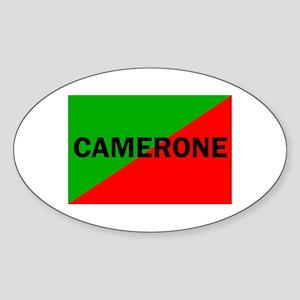 Camerone Oval Sticker