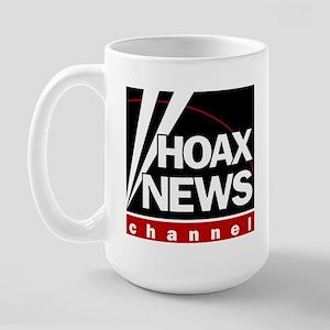 Hoax News Large Mug