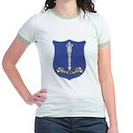 USS NORFOLK Jr. Ringer T-Shirt