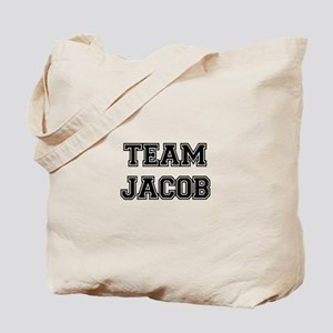 TEAM JACOB (black) Tote Bag