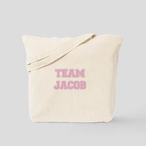 TEAM JACOB (pink) Tote Bag