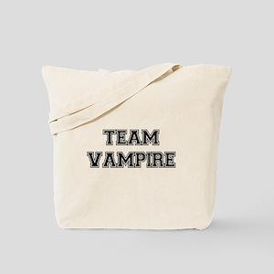 TEAM VAMPIRE (black) Tote Bag