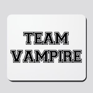 TEAM VAMPIRE (black) Mousepad