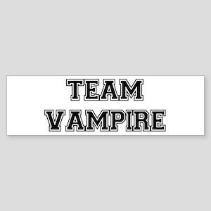 TEAM VAMPIRE (black) Bumper Sticker