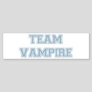TEAM VAMPIRE (blue) Bumper Sticker
