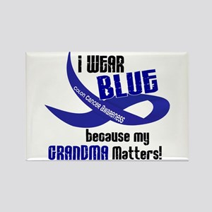 I Wear Blue For My Grandma 33 CC Rectangle Magnet