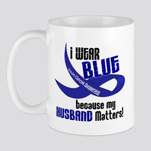 I Wear Blue For My Husband 33 CC Mug