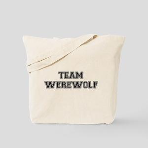 TEAM WEREWOLF (black) Tote Bag