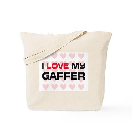 I Love My Gaffer Tote Bag