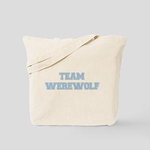 TEAM WEREWOLF (blue) Tote Bag