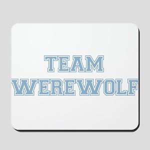 TEAM WEREWOLF (blue) Mousepad