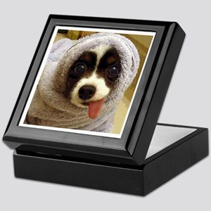 Cute Puppy Keepsake Box