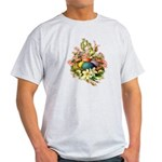 Springtime Easter Basket Light T-Shirt