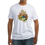 Springtime Easter Basket Fitted T-Shirt