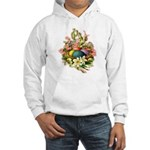 Springtime Easter Basket Hooded Sweatshirt